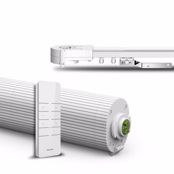 Dooya DT360 Kit – Комплект електрически корниз с дистанционно и релса 2,7м